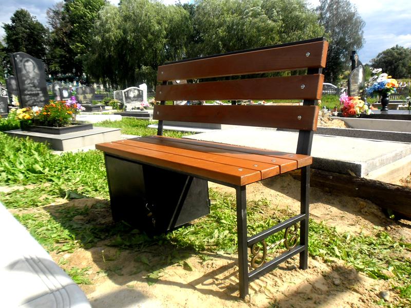 Сделать скамейку на кладбище со спинкой своими руками 48